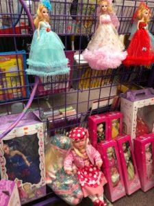 dolls, toys