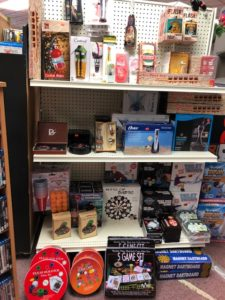 Toys, games, gifts