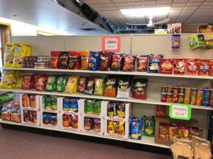 food, snacks, groceries