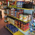 groceries, food